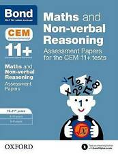 BOND 11+ Cem Test For Maths & Non-verbal Reasoning Age 10-11 Years 9780192742872