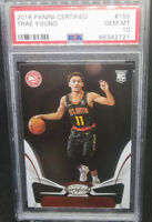 Trae Young 2018-19 Panini Certified RC Rookie # 155 Graded PSA Gem Mint 10 Hawks