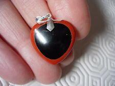 black obsidian/red jasper pendant sts   by Paul Harrison