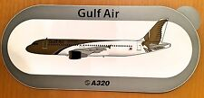 GULF AIR, A320 Sticker, Aufkleber, High Quality, neu/new, TOP & SELTEN !!!