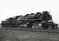C&0 Chesapeake & Ohio Steam Locomotive 1309 Railroad train photo 2-6-6-2 13x19