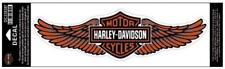 Harley DAVIDSON barra y escudo de la etiqueta engomada & Wings Genuino Logo Calcomanía De Gran Tamaño