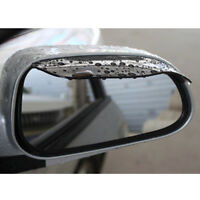 1 Pair Car Rearview Mirror Rainproof Rain Water Cover Blade Sun Visor Sun Shade