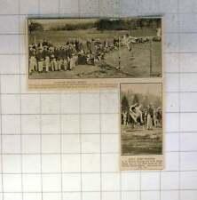 1925 Harrow School Sports Tj Hood, Ce Hutson