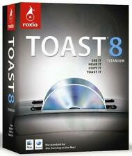 Roxio Toast 8 Titanium for MAC - 231000   (BRAND NEW, SEALED)