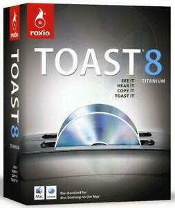 Roxio Toast 8 Titanium for MAC - 231000   (BRAND NEW, SEALED)