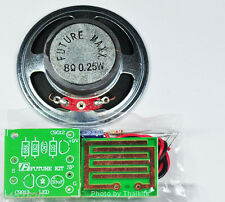 Rain Detection/Alarm Sound alert Unassembled kit for electronic Circuit student