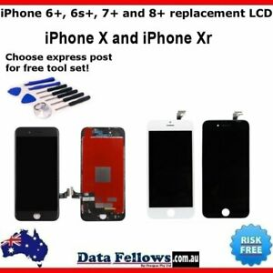 APPLE IPHONE 6 + 6s 7 8 Plus X Xr LCD Amoled Screen Replacement Display Assembly