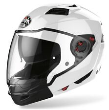 CASCO MOTO MODULARE CROSSOVER AIROH EXECUTIVE SOLID BIANCO WHITE TG XS
