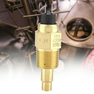 1Pcs High Reliability 1/2NPT Water VDO Temperature Sensor For Oil Water Gauge UK