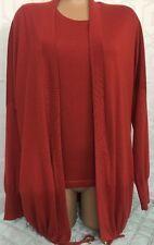 Loro Piana Sweater set Burnt Orange  Cashmere Size S
