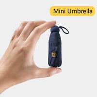 灬灬NEW Mini Capsule Umbrellas Women Pocket Folding AntiUV Parasol Travel Umbrella