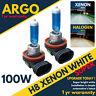 H8 Xenon White Foglight Bulbs 100w Headlight 708 Super Halogen Hid Headlamps 12v