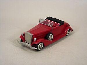 1933 Cadillac Tin Litho Cabriolet Bandai Japan Near Mint