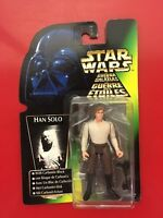 BOXED STAR WARS THE POWER OF THE FORCE HAN SOLO CARBONITE HASBRO ACTION FIGURE
