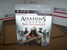 Assassin's Creed: Brotherhood  (Sony Playstation 3, 2011) VERY GOOD & COMPLETE
