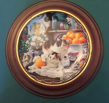 """Emily and Alice in a Jam"" Collector Plate - Warm Country Moments - Mary Lasher"