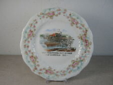Antique Souvenir Plate - First Train Crossing Missouri River at Chamberlain, SD