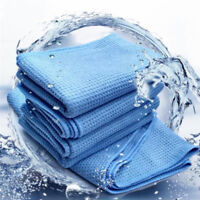 Microfiber Waffl Weave Car Cleaning Sashes Cloths Detailing Towels 60CM X 80CMCN