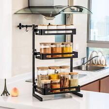 Küchenregal Spice Rack Organizer 3Tier Gewürzregale für Küche Badezimmerschrank!