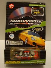 Action Texaco Need For Speed Porsche CD Game W/ #28 Ricky Rudd Car 1:64 44-77