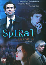 Spiral: Season 2 (DVD, 2013, 4-Disc Set)
