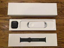 Apple Watch Series 6 44mm Space Gray Aluminum Cellular + Clover Sport Band