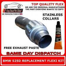 BMW 525d 530d E60,E61 exhaust flexi flex repair pipe for dpf, manual and auto