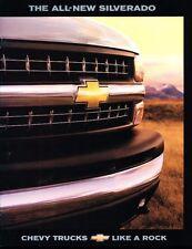 1999 Chevrolet Silverado Truck Original Sales Brochure Catalog