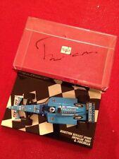 Giancarlo Fisichella Benetton Renault 2001 Signed Autographed 1:43 Minichamps F1