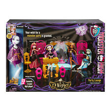 Monster High 13 Wishes Party Loung Play Set with Spectra Vondergeist Doll
