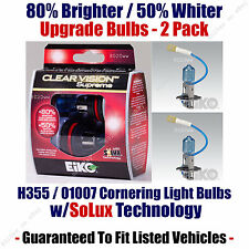 2-Pack Upgrade Cornering Light Bulbs 80% Brighter 50% Whiter 01007 / H3 55 CVSU2