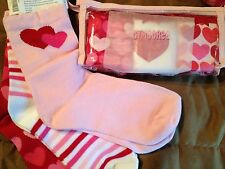NWT~GYMBOREE~3-4~3T-4T~HEART~VALENTINE~PANTY~SOCK~SET~LOT~PACK~HOLIDAY