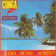 MIAMI SOUN MACHINE-CONGA SINGLE VINILO 1985 SPAIN