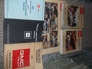 1987 GMC S/T ST CABALLERO Jimmy Truck S15 SIERRA Service Shop Repair Manual SET