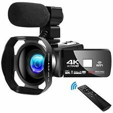 4K Video Camera Camcorder Vlogging Camera for YouTube UHD 48M 30FPS