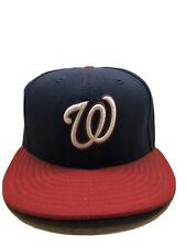 7 3/8 Washington Nationals Baseball New Era 59Fifty Fitted Hat Baseball Cap