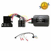 CTSRN003 Steering Wheel Stalk Control Adaptor Lead For RENAULT Kangoo 2000-2005