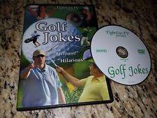 Golf Jokes DVD EUC Tightlies Over 20 Different Video Shorts Birdies Funny Comedy