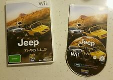 Nintendo Wii Game - Jeep Thrills - Complete- Fast Free Post! VGC!