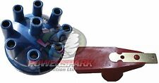 Land Rover V8 Tapa del Distribuidor & Powermax Rotor Rojo