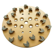 "10"" 25/30 Arrow Diamond Concrete Grinding Head Disc Plate for Edco Floor Grinder"