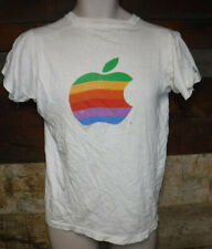 Vintage 1984 Apple Macintosh Classic Logo T Shirt Made In Usa 1980'S Rare L@K