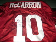 AJ McCarron Alabama Crimson Tide Signed XL Football Jersey Cincinnati Bengals