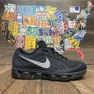 Nike Air Max Tailwind 6 Triple Black 621226-007 Women's Size 9.5