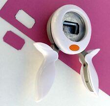 Fiskars TICKET Medium Squeeze Punch Paper Scrapbooking NEW