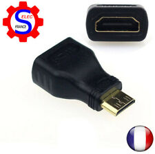 Mini HDMI Male Type C to Female Type A Adapter Connector for 1080p 3D TV 5028Z