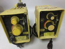 LMI MILTON ROY A151-91S ELECTROMAGNETIC DOSING / METERING PUMP 115V, 1A, 24GPD