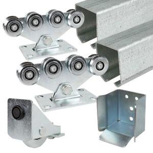 LIGHT CANTILEVER GATE KIT - Up To 5m / 500kgs Sliding Track Hardware System