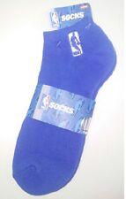"""NBA"" LOGOMAN NO SHOW SOCKS---ROYAL BLUE"
